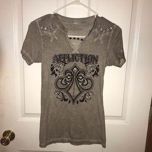 Affliction Short Sleeve Shirt Size Medium